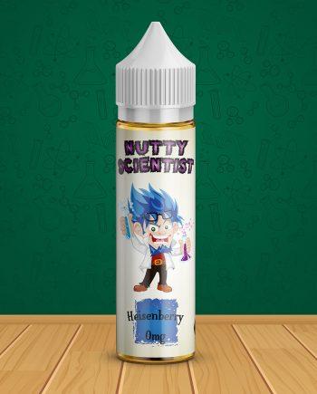Nutty Scientist E-Liquid 50ml 0mg Shortfill - Heisenberry