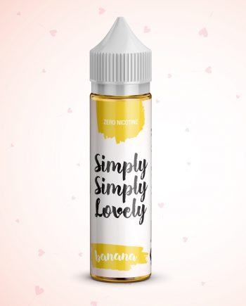 Simply Simply Lovely 50ml - 0mg - Shortfill - Banana