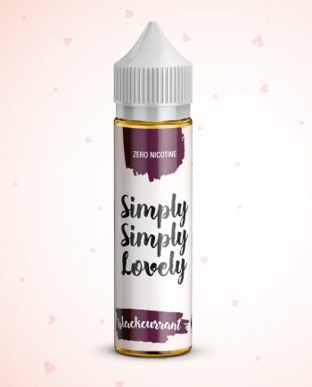 Simply Simply Lovely 50ml - 0mg - Shortfill - Blackcurrant