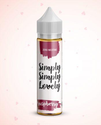 Simply Simply Lovely 50ml - 0mg - Shortfill - Raspberry