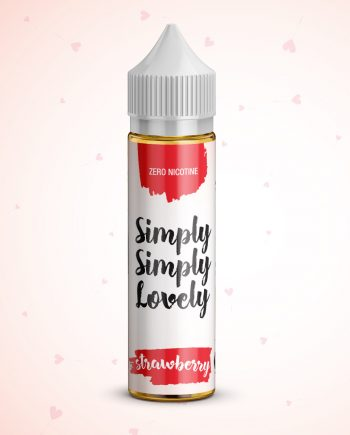 Simply Simply Lovely 50ml - 0mg - Shortfill - Strawberry